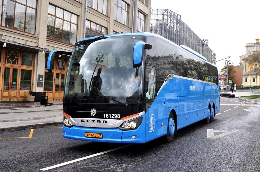 В Москве пообещали к лету открыть 20 парковок для туристических автобусов