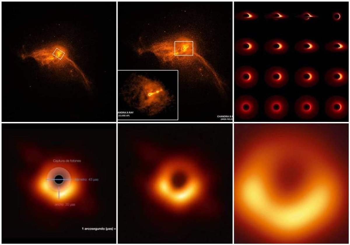 Восемь испанских ученых приняли участие в фотографировании черной дыры