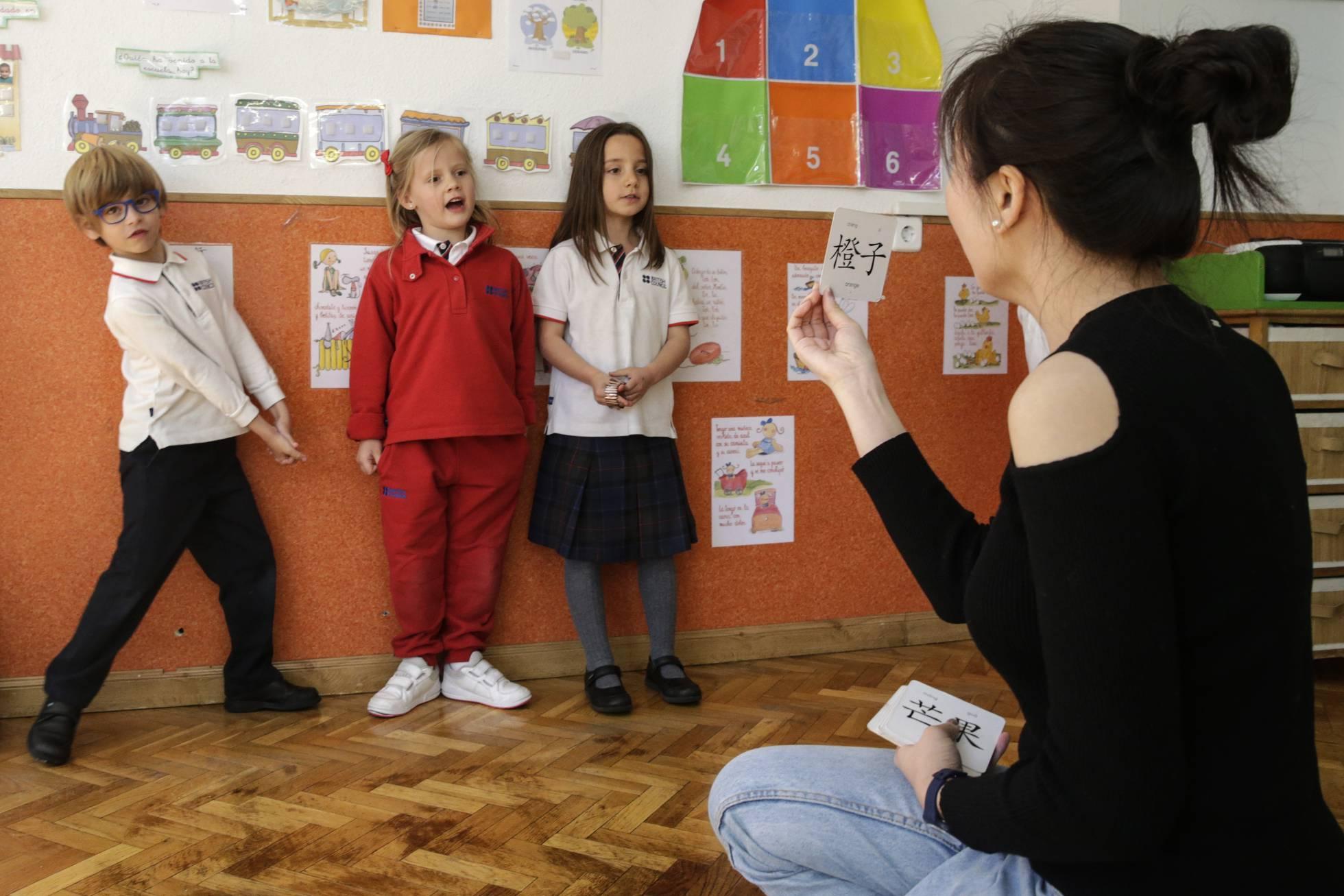 В частных школах региона Мадрид становится модно изучать китайский язык