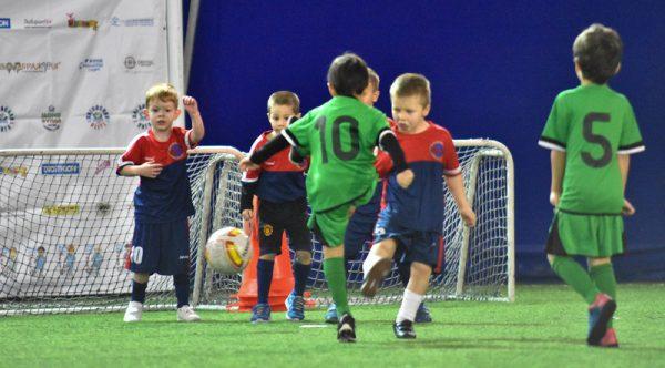 Детские футбольные секции в Сочи