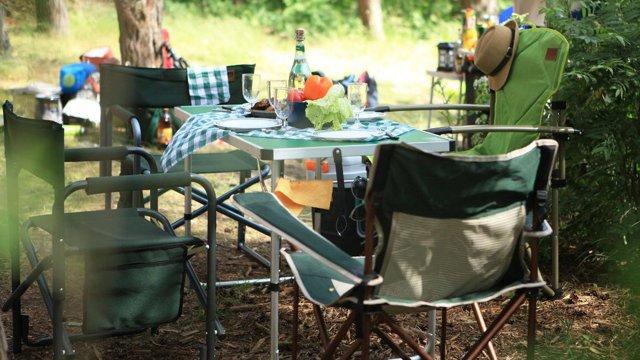 Особенности и разновидности походных складных стульев